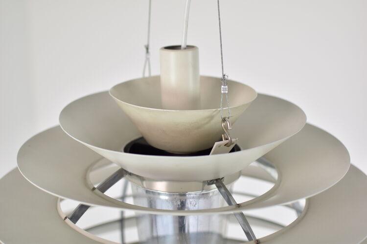 'Louvre' pendant designed by Poul Henningsen for Louis Poulsen, Denmark 1957.