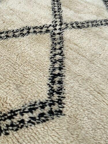 Tapis berbere Beni Ouarain ancien 200x430 cm