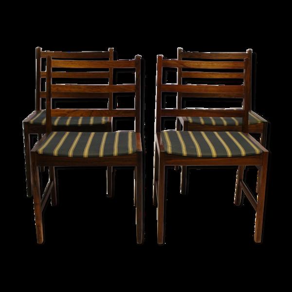 Selency Ensemble de quatre chaises, années 60