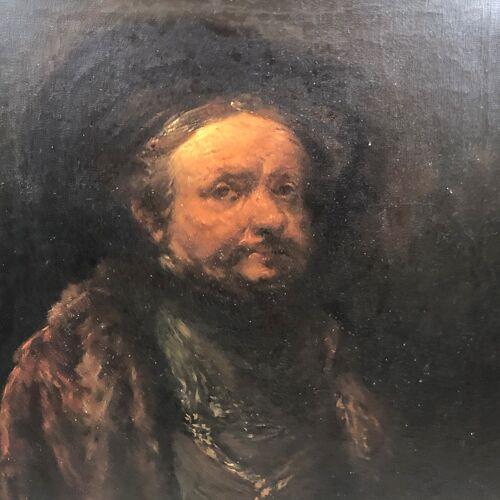 Portrait de Rembrandt