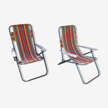 Paire de fauteuils des années 60