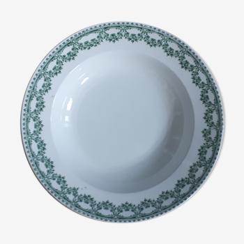 Green Boch Carlotta Plate