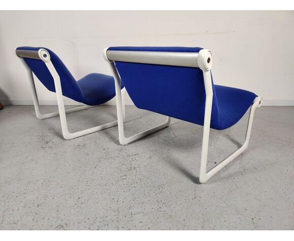 Paire de fauteuils Knoll de Bruce Hannah et Andrew Morrison, années 70