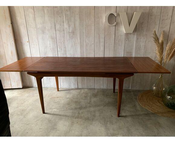 Table à rallonges vintage