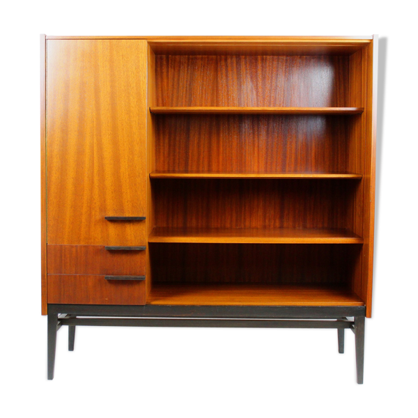 Mid-century vitrine cabinet by F. Mezulanôk for Up Bucovice, 1960s