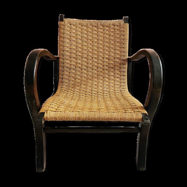 Fauteuil Bauhaus d'Erich Dieckmann, années 1930