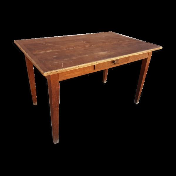 Table de ferme ancienne 1m22