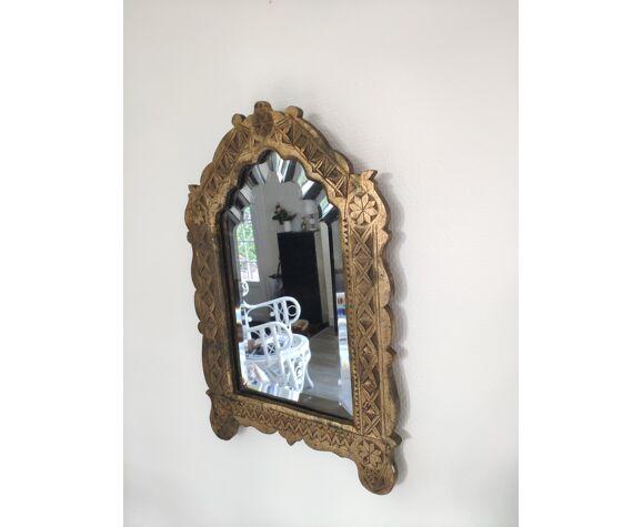 Ancien miroir berbère oriental 19 ème 42x27