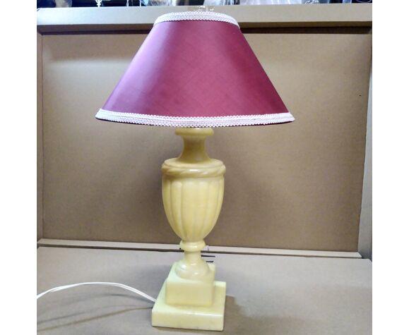 Lampe en albatre 1970