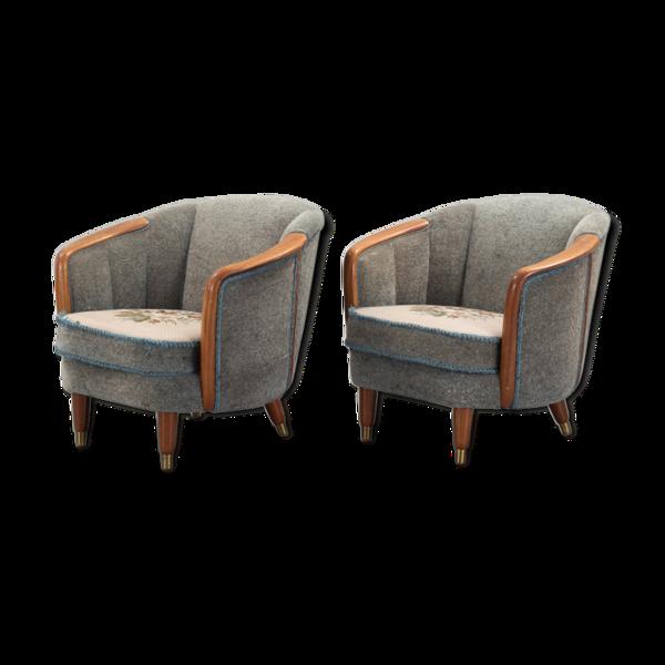Selency Paire de fauteuil de Paolo Buffa