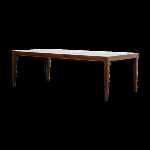 Table basse rosewood par Severin Hansen