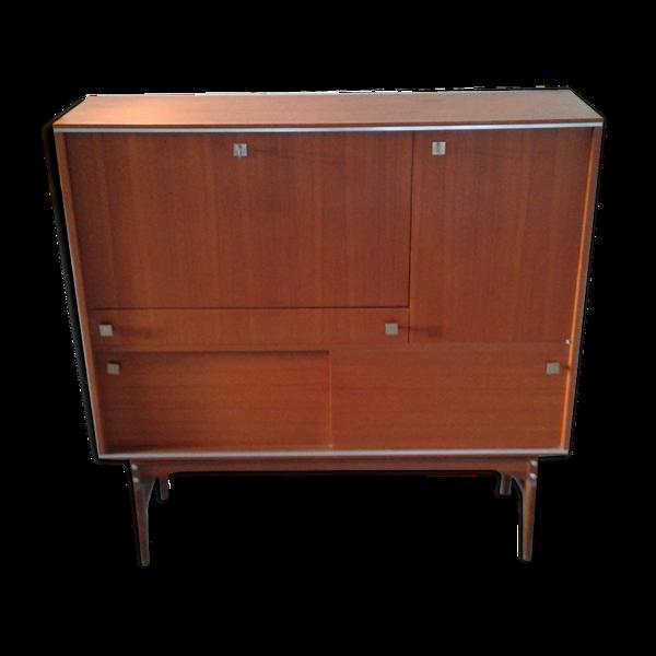 Secrétaire bar meuble années 60