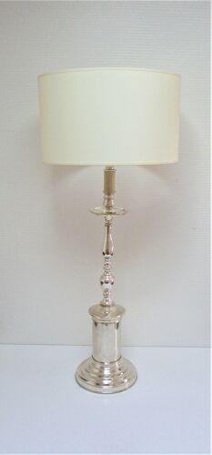 Chrome brass lamp foot xl 60s-70s