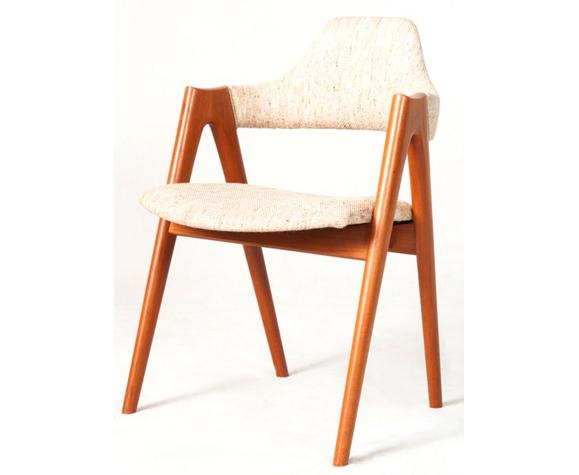 Chaise compas par Kai Kristiansen pour SVA Møbler