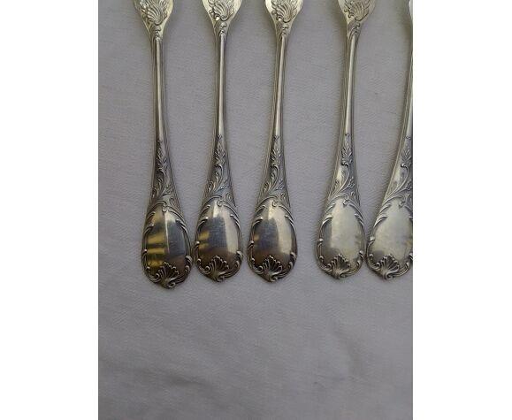 Couverts a poisson métal argenté Christofle