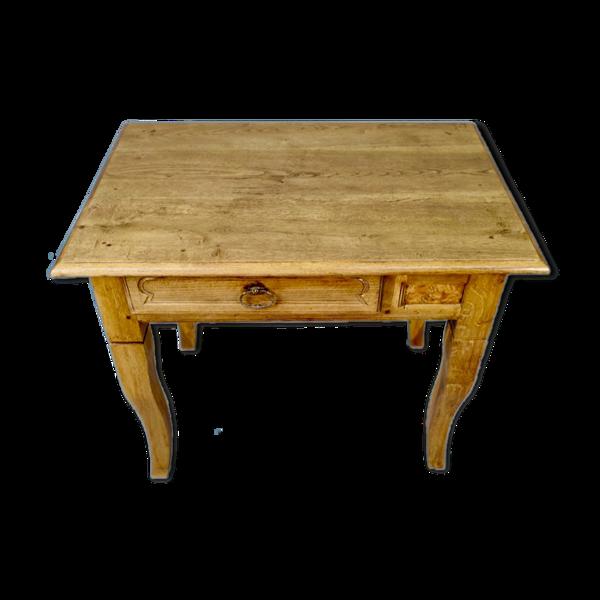 Selency Table  en chêne de style Louis XV