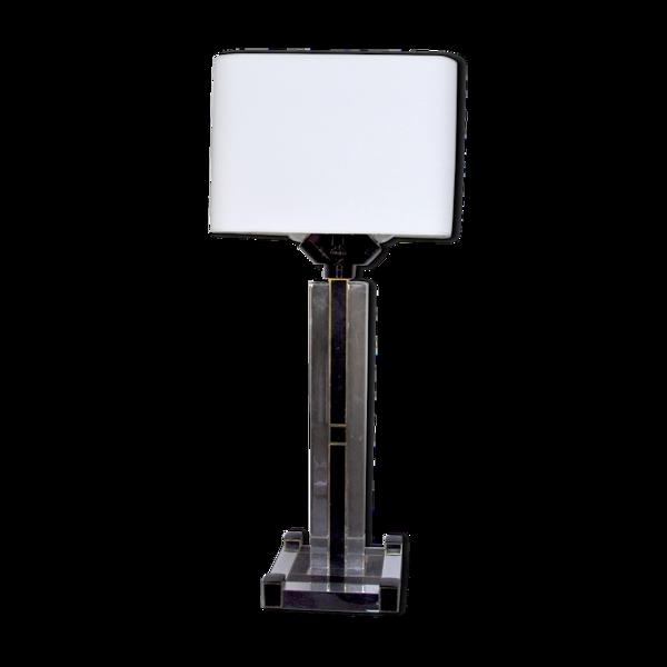 Lampe de table cubique Regency par Bd Lumica, Italie, 1980