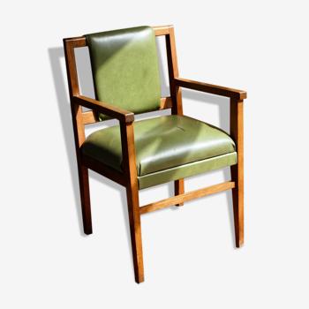 Teak office chair, Scandinavian