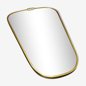 Miroir rétroviseur vintage - 65x40cm