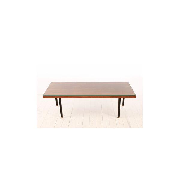 Belle et grande table basse de style danoise