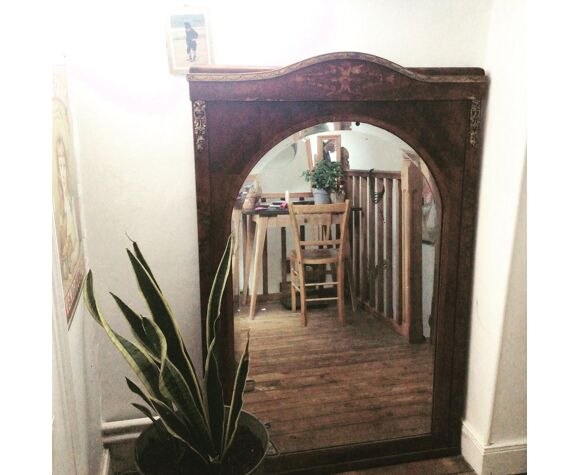 Miroir trumeau biseauté 90x140cm