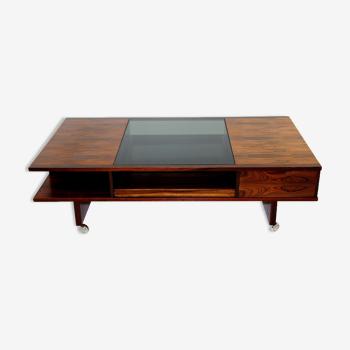 Rosewood coffee table, Haug Snekkeri A/S, Bruksbo, Norway, 1960