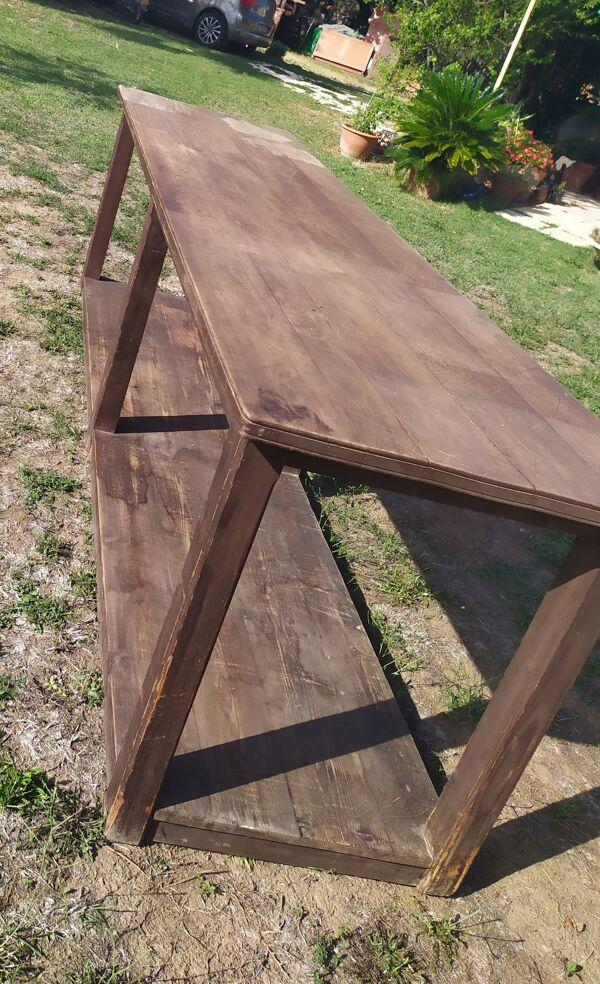 Table de drapier ancienne 3mx 77,5cm