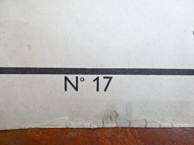 Carte pédagogique Rossignol