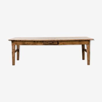 Table bois de ferme type drapier