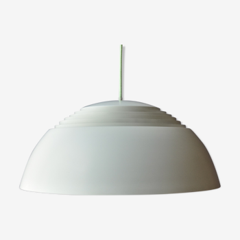 Early white Arne Jacobsen AJ Royal Pendant Lamp by Louis Poulsen, Denmark