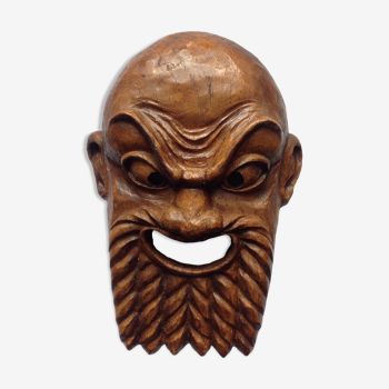 Masque de la comédie antique