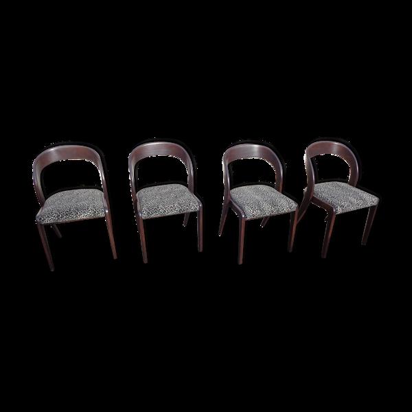 Selency Set de 4 chaises gondoles