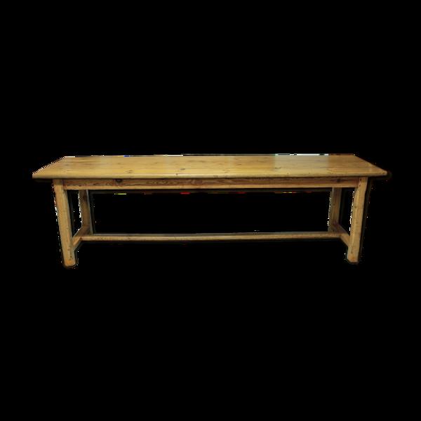 Selency Table de couvent en pin XIXème