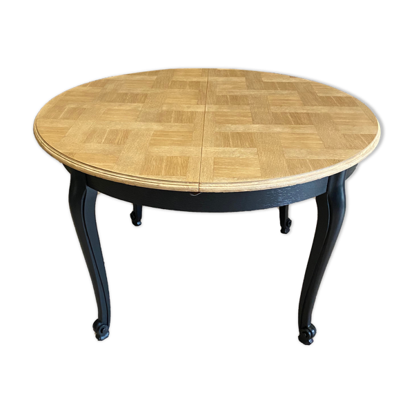 Table style Louis XV relookée