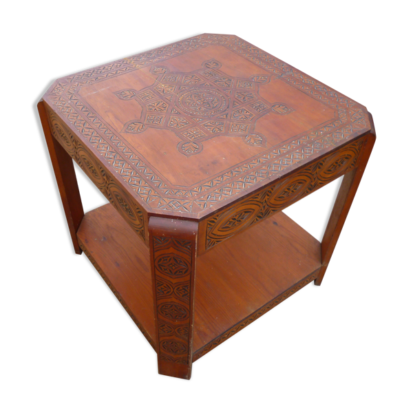 Table orientale année 50