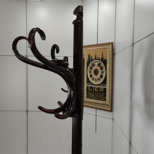 Porte-manteaux double Thonet