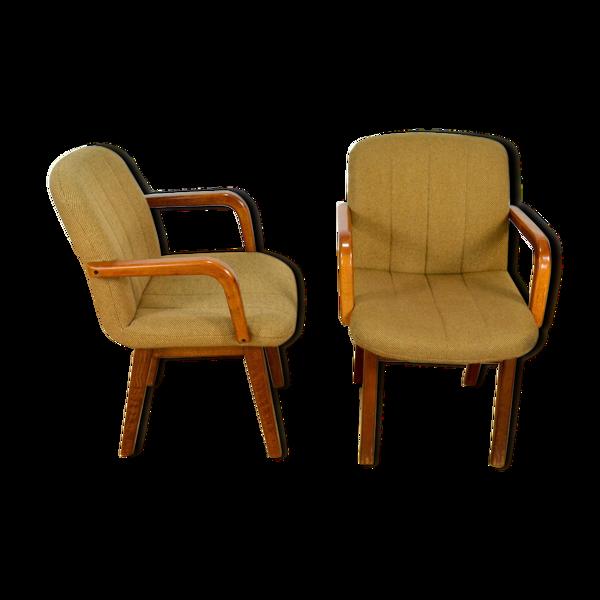 Paire de fauteuils vintage Airborne 1990 / 2000