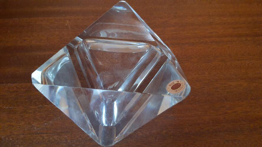 Cendrier Tchèque cristal