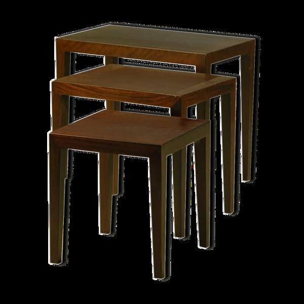Table gigognes  par Severin Hansen Jr pour Haslev 1960s