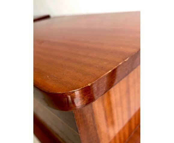 Paire de tables de chevet vintage