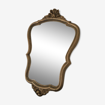 Miroir ancien 24x39cm
