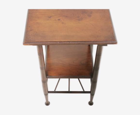 Table d'appoint Victorienne E W Godwin en acajou du 19ème siècle