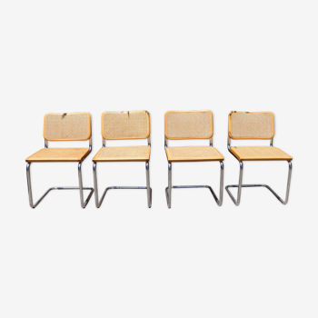 Chaise B32 Cesca de Marcel Breuer