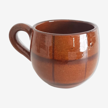 Mug ecossais marron mm