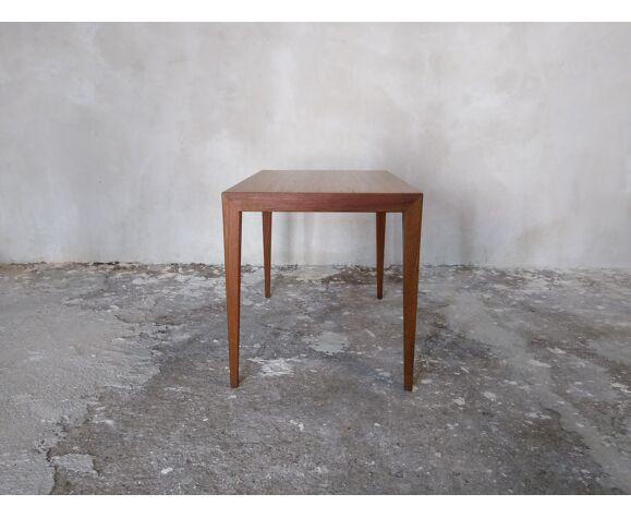 Table basse par S. Hansen pour Haslev, Danemark, années 60