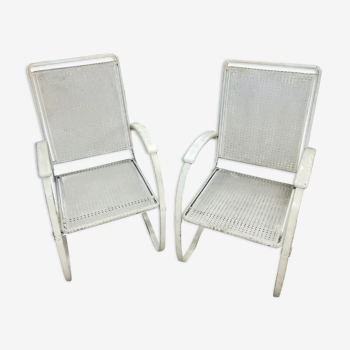 Pair of 1950 armchairs