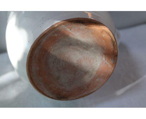 Pichet en grès  émaillé avec réserve à glaçons