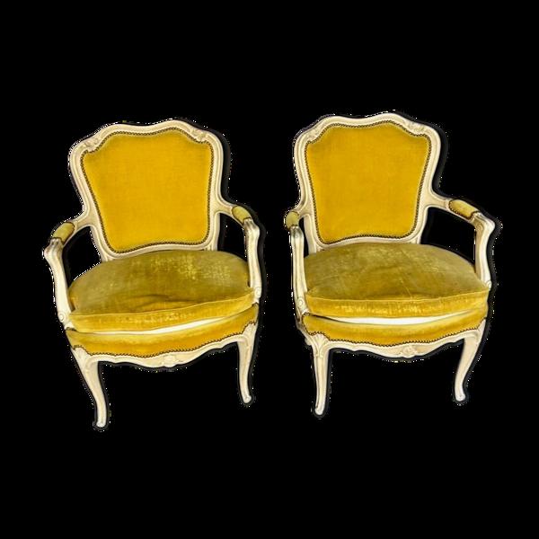Selency Paire de fauteuils, XIXe siècle