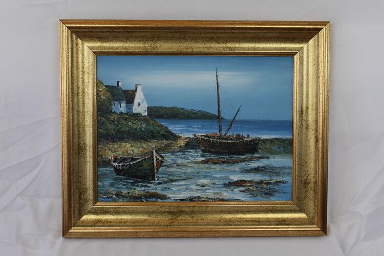 """Painting """"Seaside"""""""