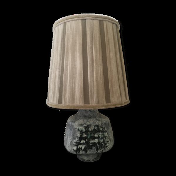 Lampe de table en céramique au milieu du siècle, des années 1950